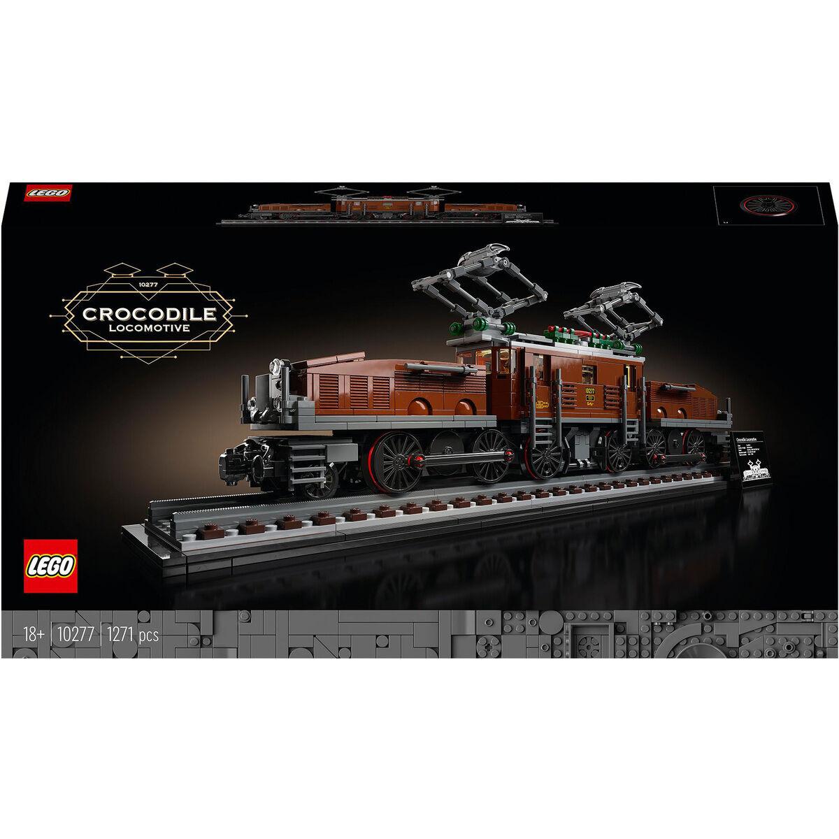 LEGO Creator Expert 10277 Lokomotive Krokodil Eisenbahn Galeria Kundenkarte Gutschein inklusive Füllartikel