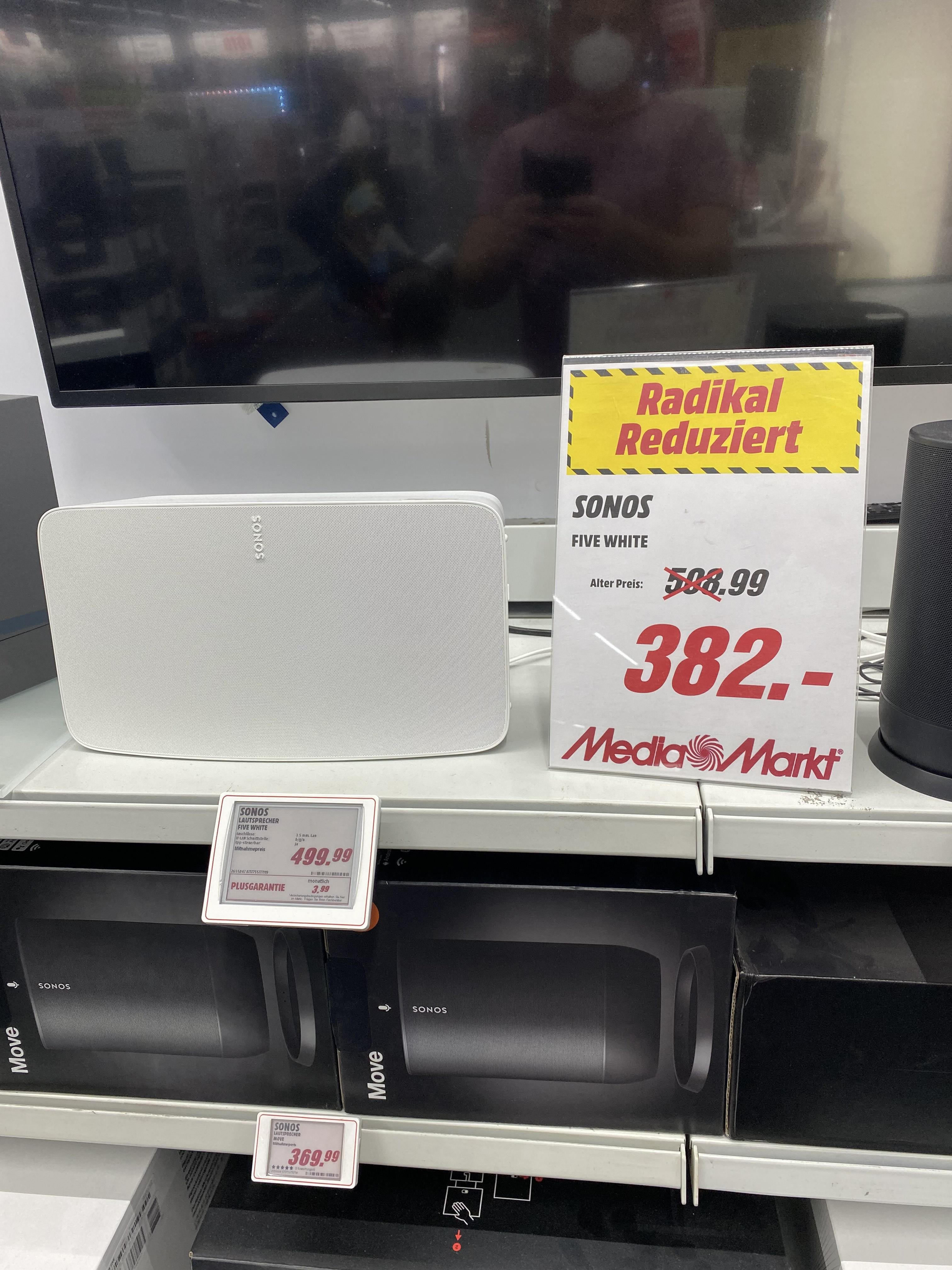 Sonos Five in weiß 382,-€ Lokal in Stralsund