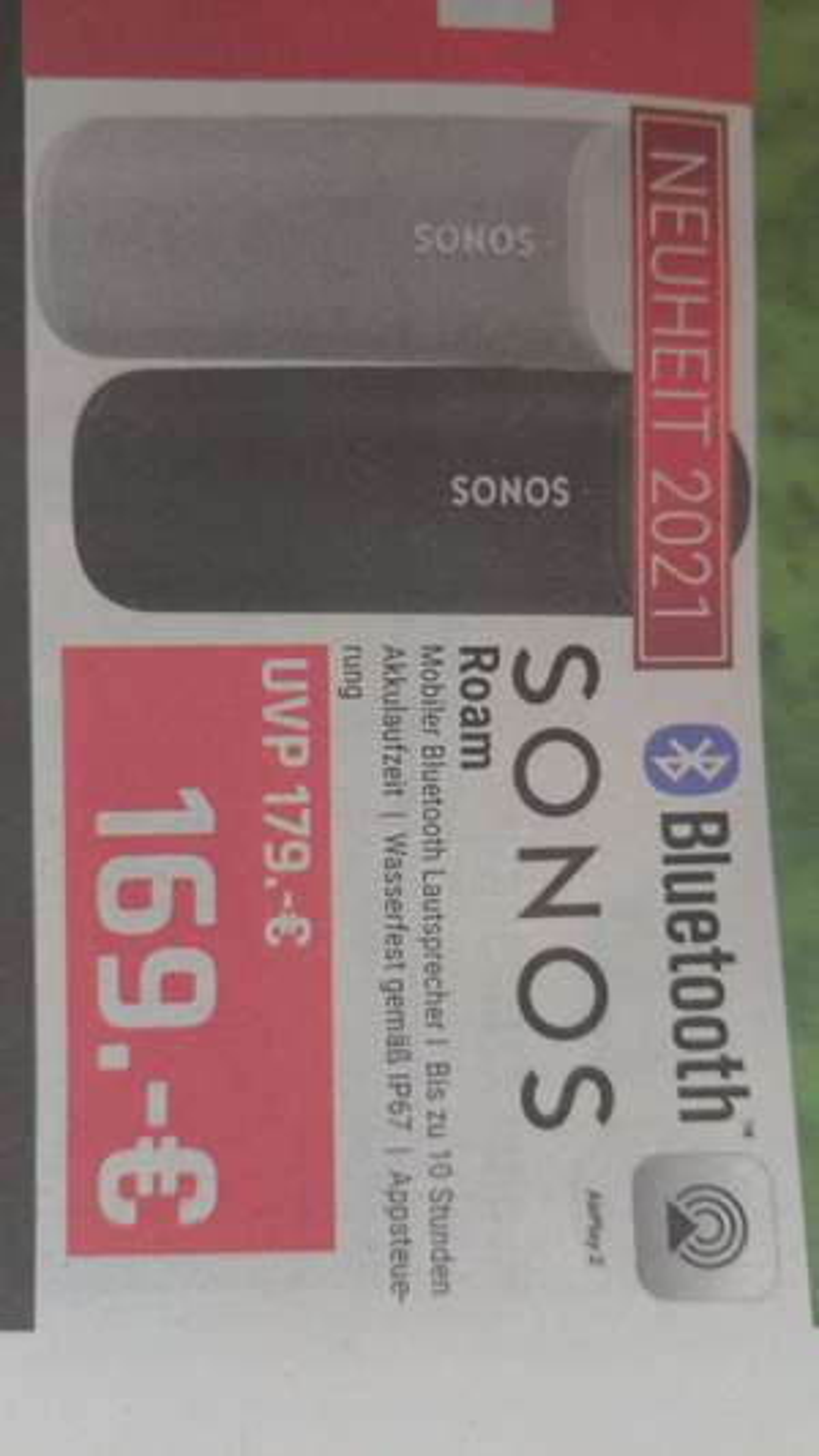 (LOKAL Hirsch+Ille Mannheim) Sonos Roam