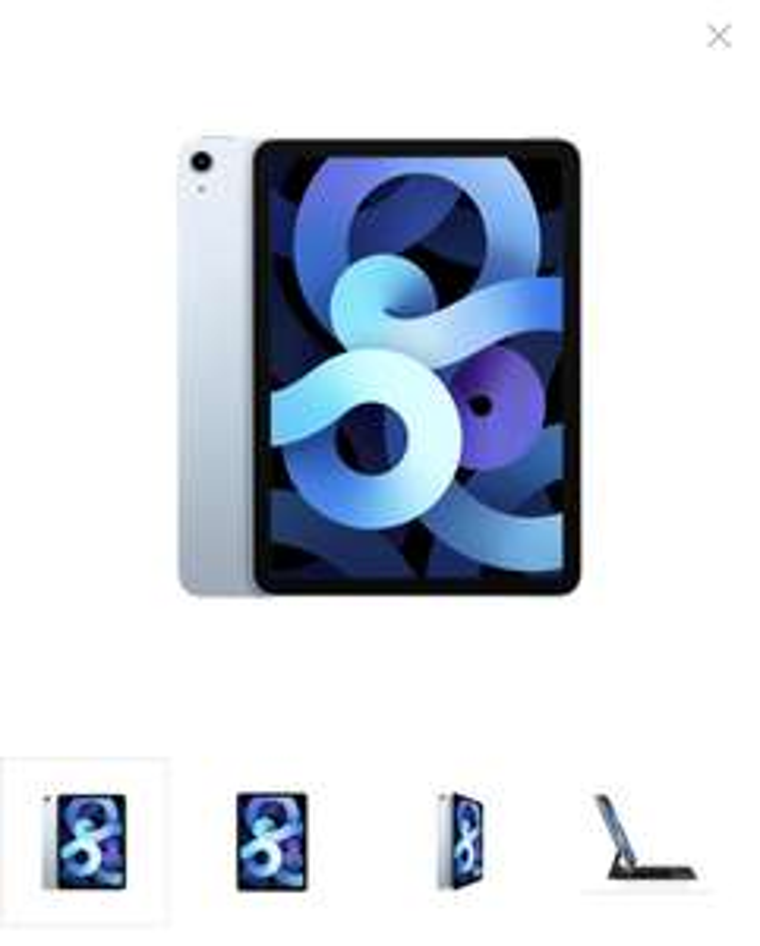 Apple iPad Air 2020 — 64gb — wifi — Sky blau