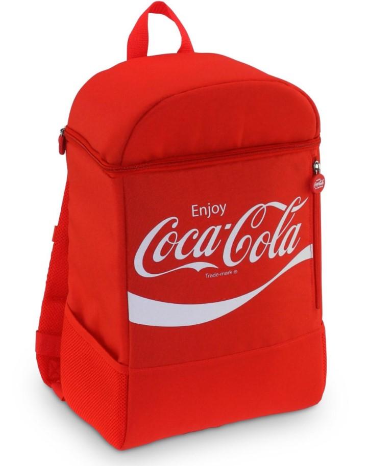 COCA-COLA CLASSIC BACKPACK 20 Kühltasche (20 Liter Fassungsvolumen, Rot)