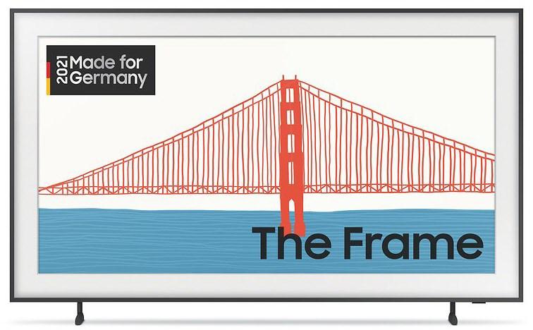 """Samsung The Frame 65"""" neues Modell 2021 inkl. Versand und Gratiszugabe Samsung Galaxy A72"""