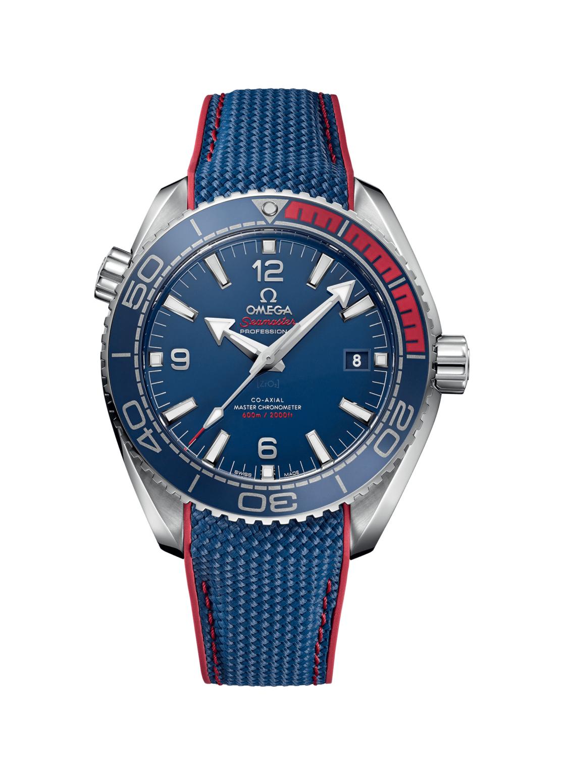 Schweizer Konzi Deal - Omega Seamaster Planet Ocean 600m Co‑Axial Master Chronometer / Kautschuk + Edelstahlband / Limitierte Automatikuhr