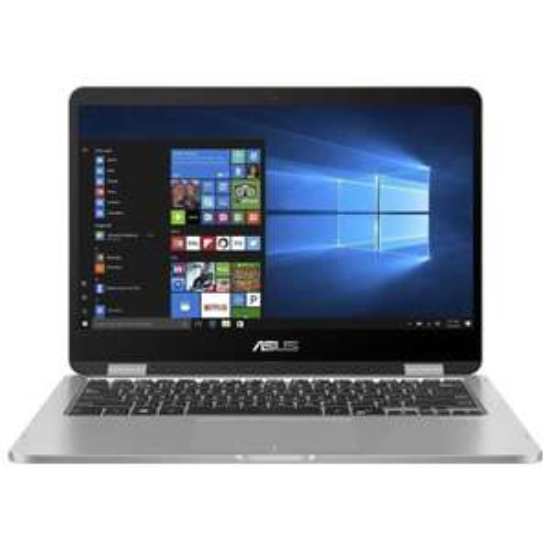 "ASUS VivoBook Flip 14: Touch 14"" 1366x768, Intel Celeron N4020 2C/2T, 4+128GB, Win10 Pro"