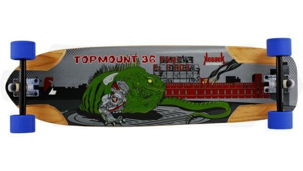 KEBBEK / Topmount 36 Borg Series / 91cm / Downhill-Longboard / Komplettboard, Helme ab 19,94€ [longboardshop.de]