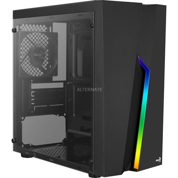 "AeroCool Bolt Mini mATX / µATX ""RGB"" PC-Gehäuse mit Acrylfenster (23,44€ ohne VSK)"