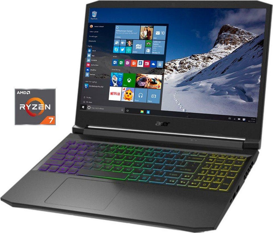 """Acer Nitro 5 mit RTX3080 und Ryzen 7 5800H, 1TB SSD, 32GB RAM, 15,6"""" Full HD mit 144 Hz"""