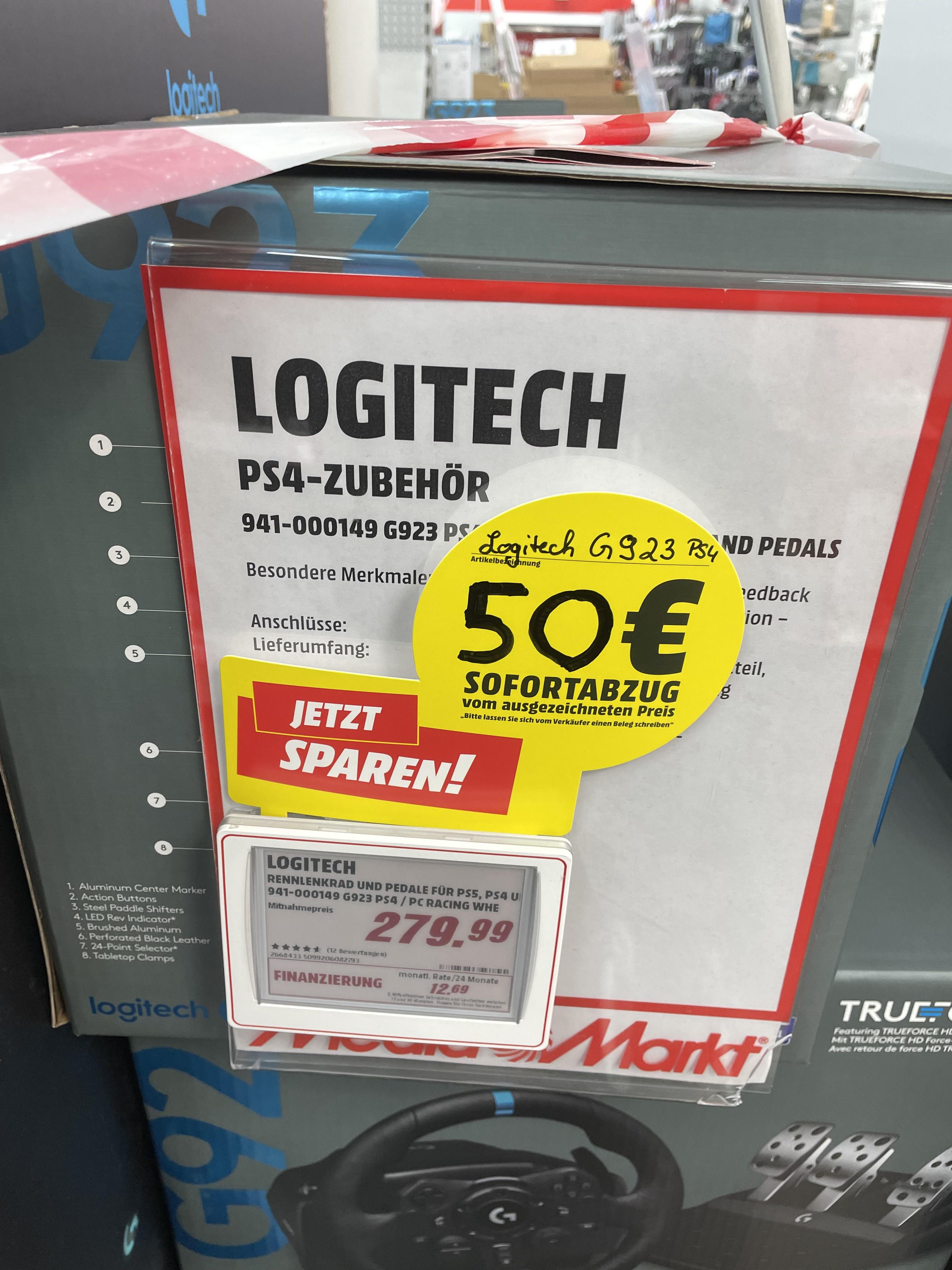 Lokal Freiburg Logitech Lenkrad G923 229€