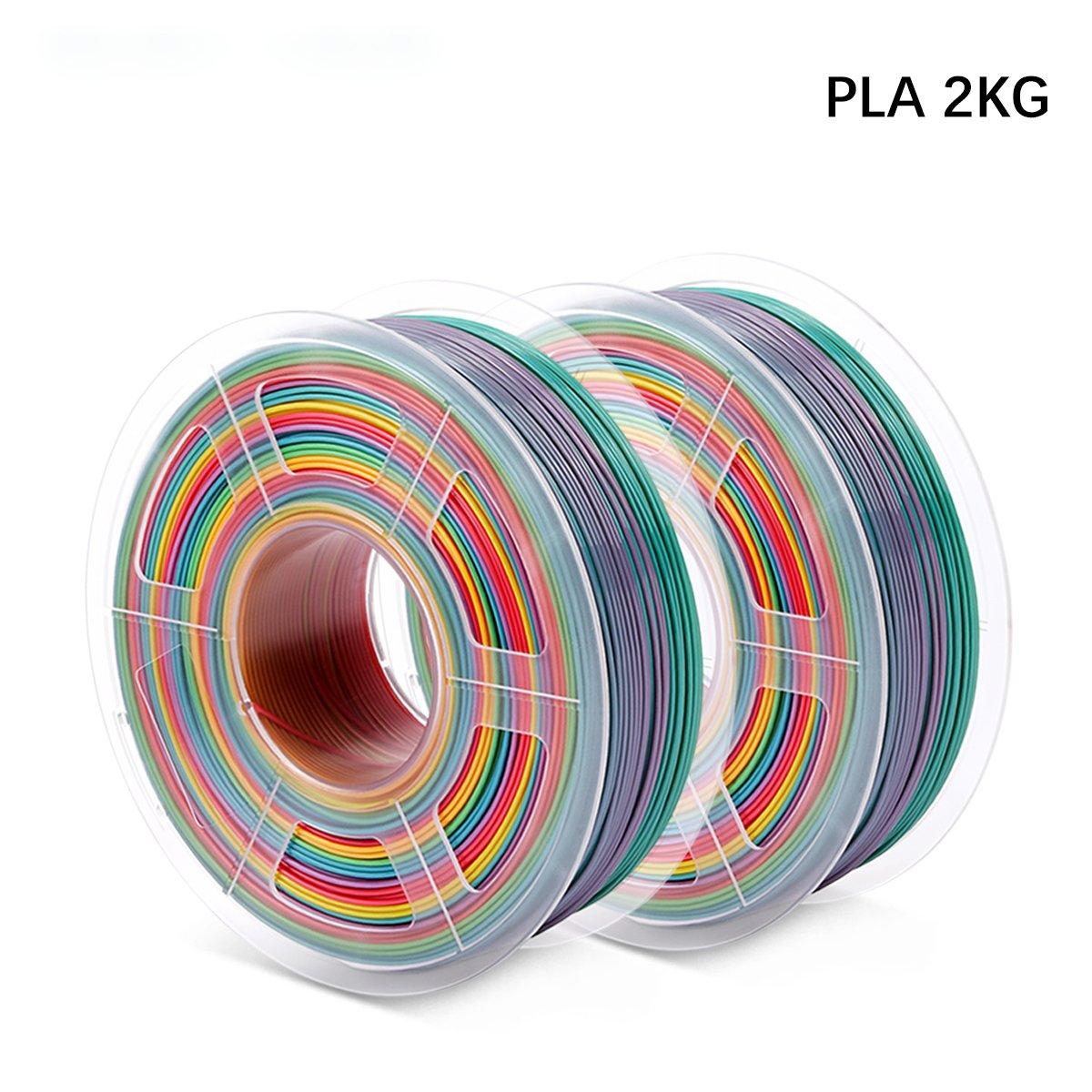 Enotepad 2x 1KG Filament Rainbow PLA