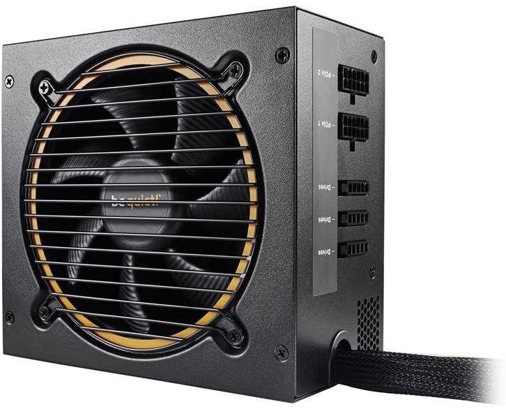 be quiet! Pure Power 11 CM ATX PC Netzteil 600Watt Schwarz 80Plus Gold mit Kabelmanagement BN298