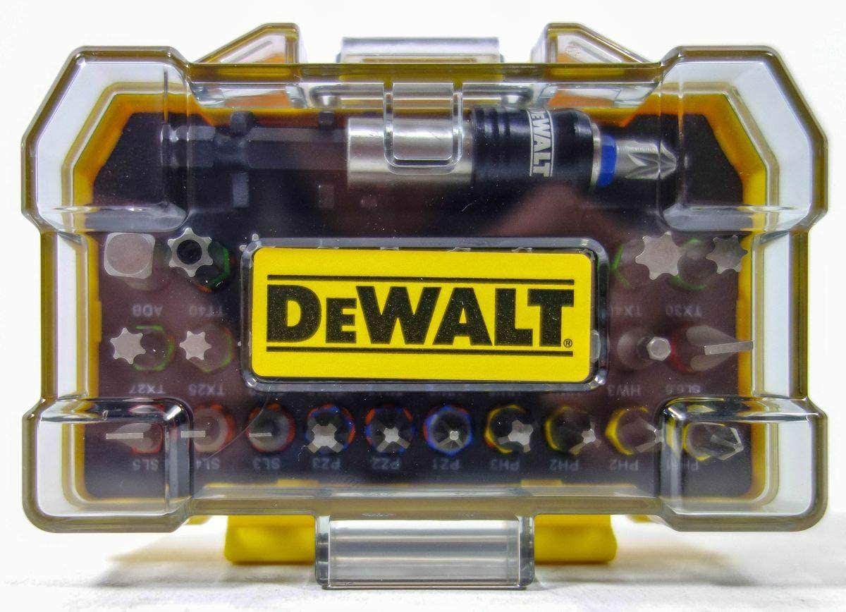 Dewalt 32-tlg. Schrauberbit-Set Inkl Schnellwechsel Bithalter