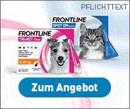 FRONTLINE TRI-ACT 6 STK. mit 25,5 € Preisnachlass zum Schutz vor Zecken