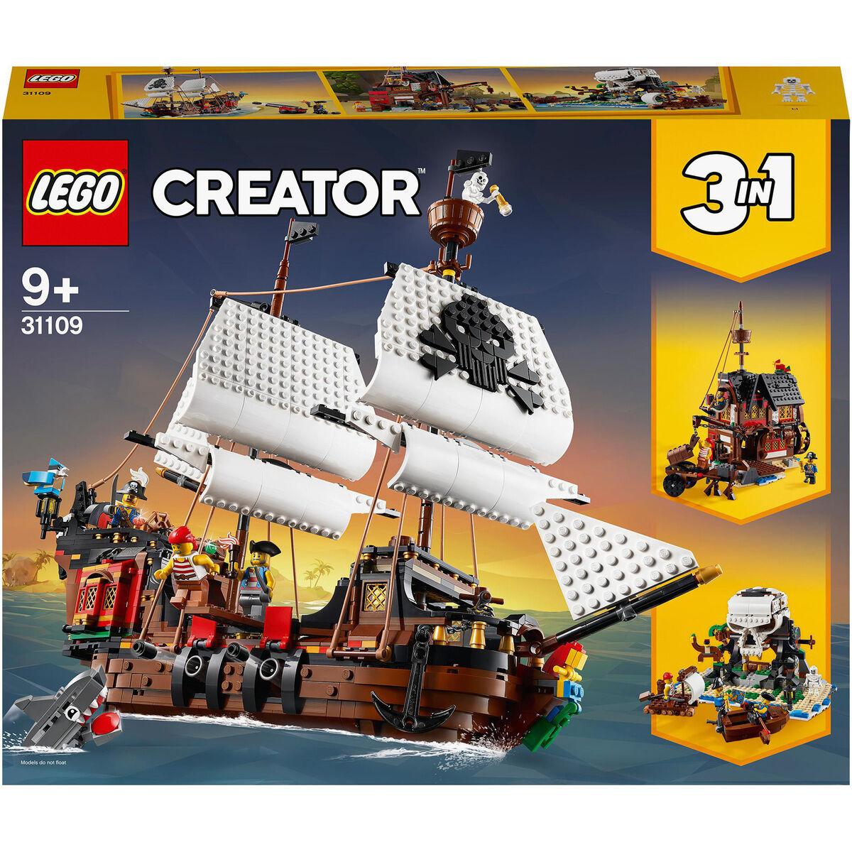 LEGO Creator 3in1 - 31109 Piratenschiff