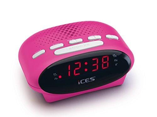 [amazon prime locker abholstation] Ices ICR-210 pink   Uhrenradio