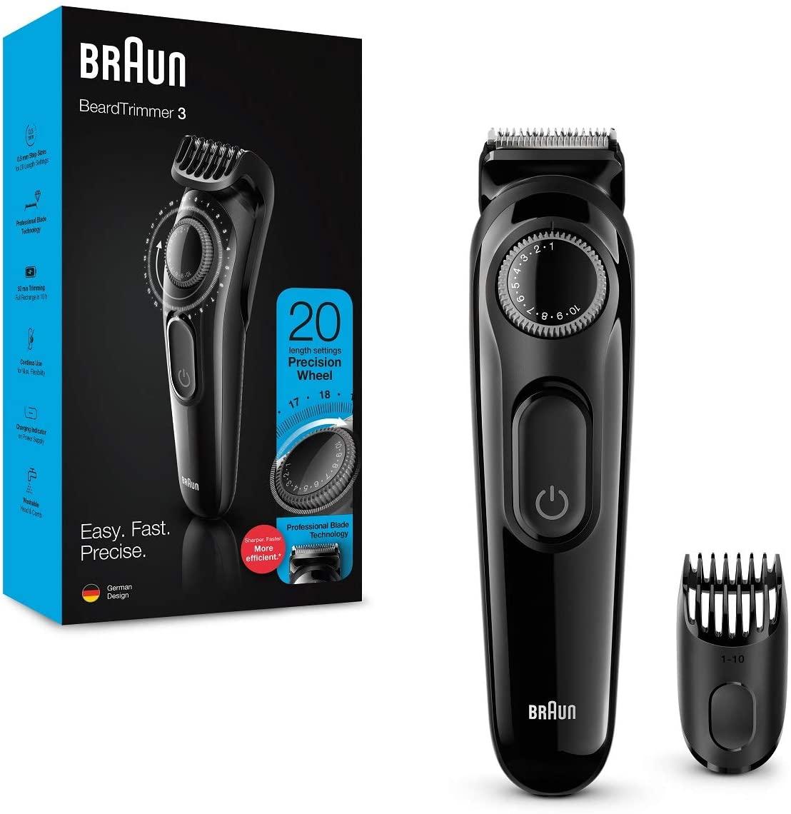 Braun BT3222 Haarschneider Bartschneider Barttrimmer bei Action ab 9.6.2021
