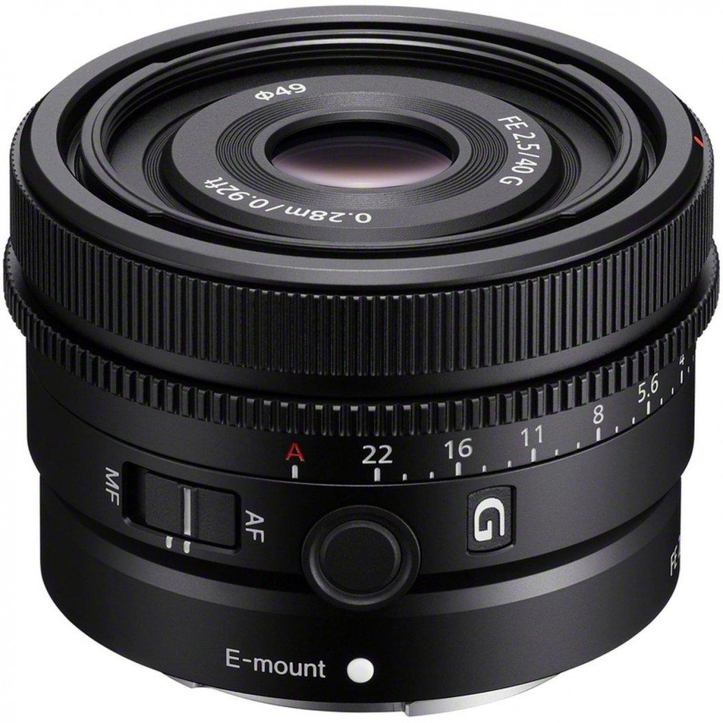 Sony FE 40mm F2.5 G Objektiv