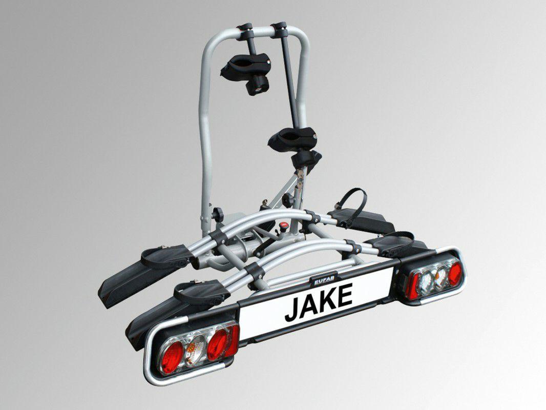 EUFAB Fahrradträger JAKE für 2 Fahrräder (für E-Bikes geeignet) - erweiterbar auf 3 Fahrräder