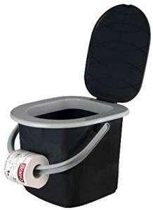 Camping-Toilette (22 Liter) für den mobilen Einsatz oder als Gäste-WC für 12,99 Euro / Sanitärflüssigkeit für 7,77 Euro [Zimmermann-Filiale]