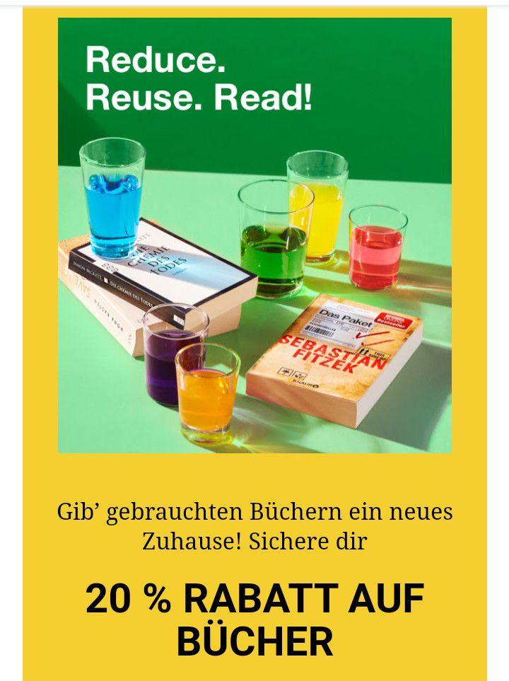 [Rebuy] 20% auf alle Bücher, MBW 25€