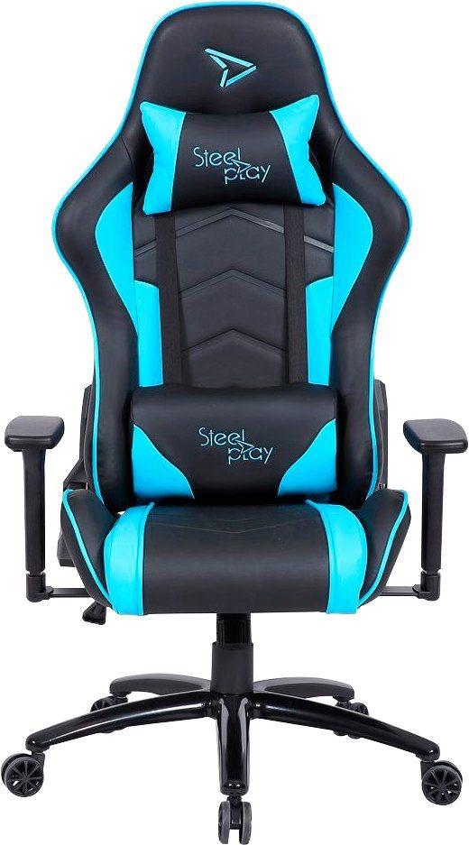 Steelplay Gaming Stuhl SGC01 Hellblau/Türkis Gaming Chair