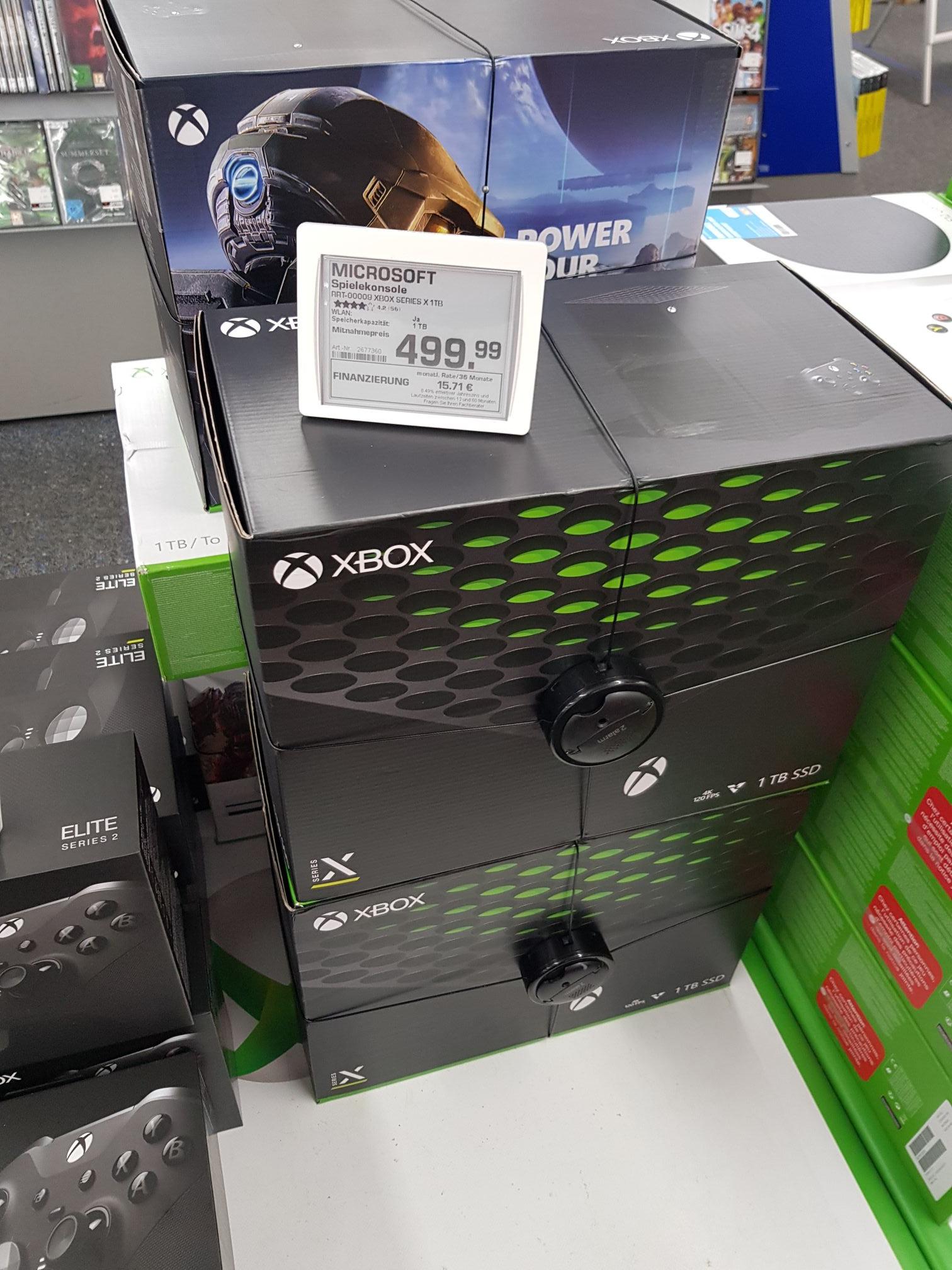 [Lokal Saturn Hannover HBF] Xbox Series X