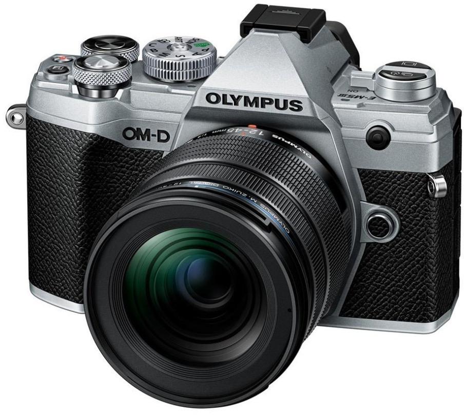 Olympus OM-D E-M5 Mark III MFT Systemkamera silber + 12-45mm F4 Pro Objektiv (exkl. 150€ Casback = 1064,10€) (Vorbestellung)