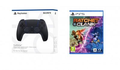 Ratchet & Clank Rift Apart + DualSense Controller Midnight Black
