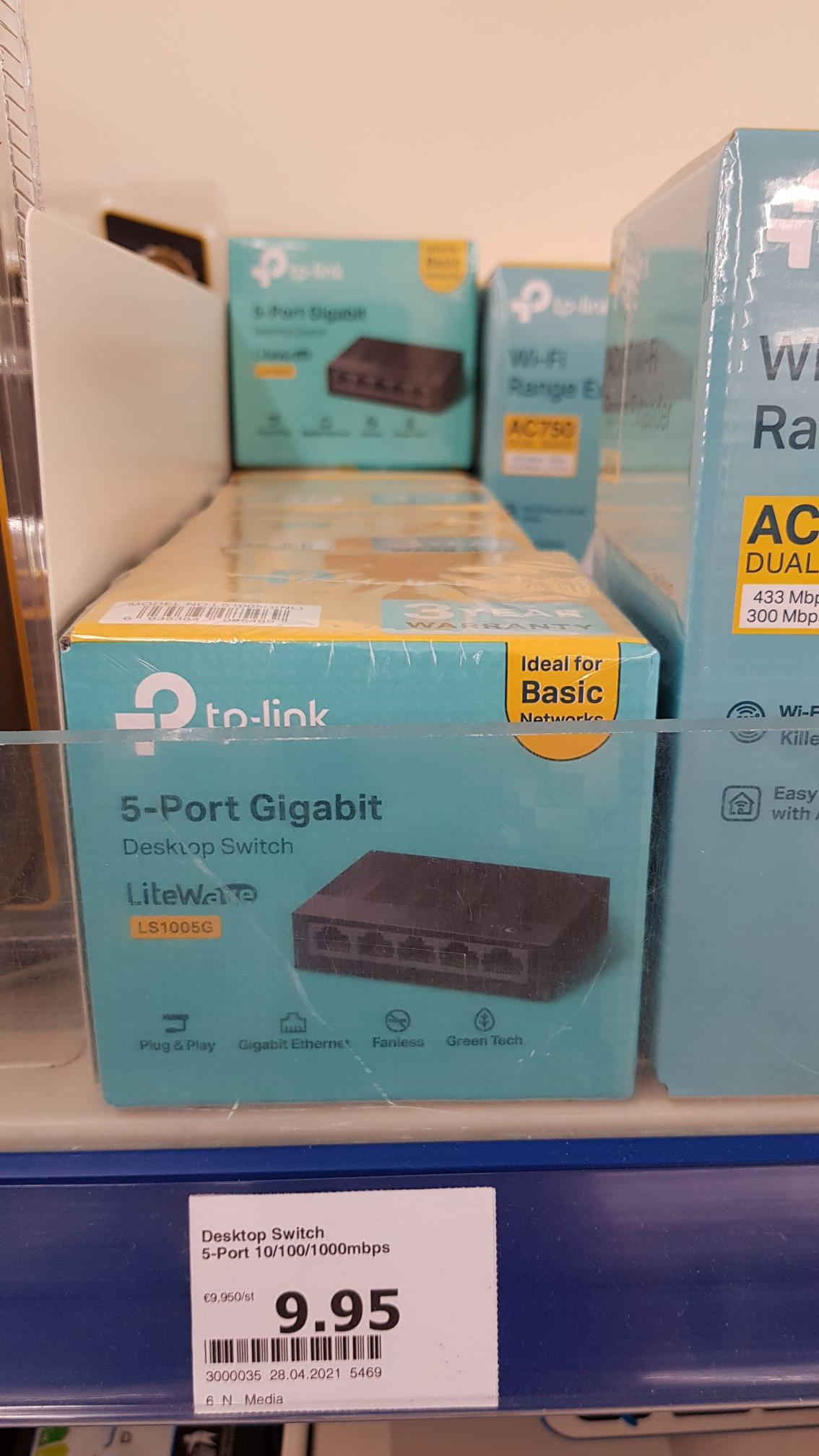 [Offline] Action TP-link Gigabit Switch LS1005G