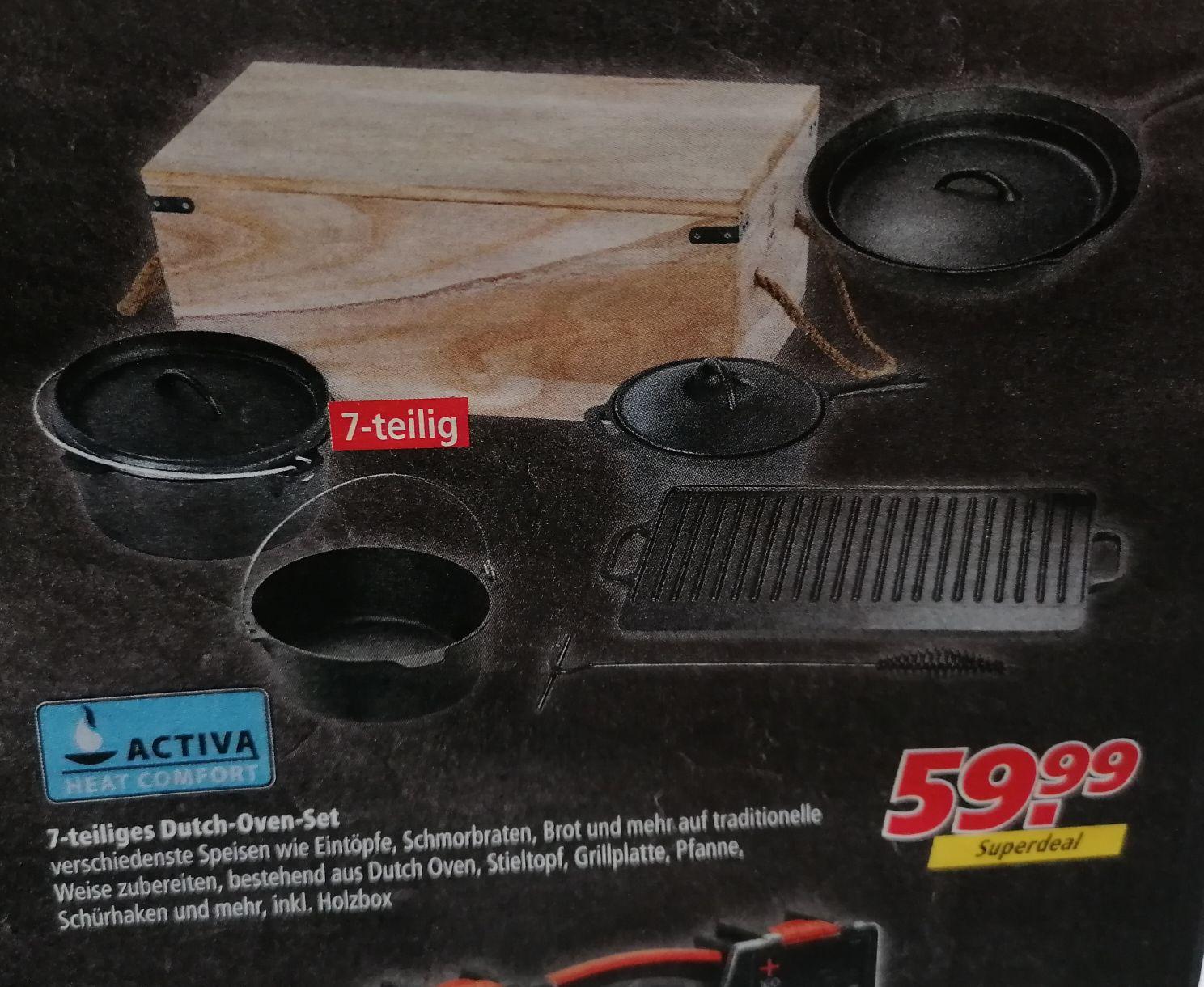 Activa Dutch Oven Set 7-teilig bei Marktkauf
