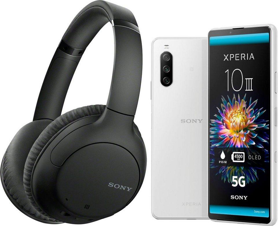 Sony Xperia 10 III + Sony WH-CH710N Kopfhörer + 3 Monate Joyn Plus