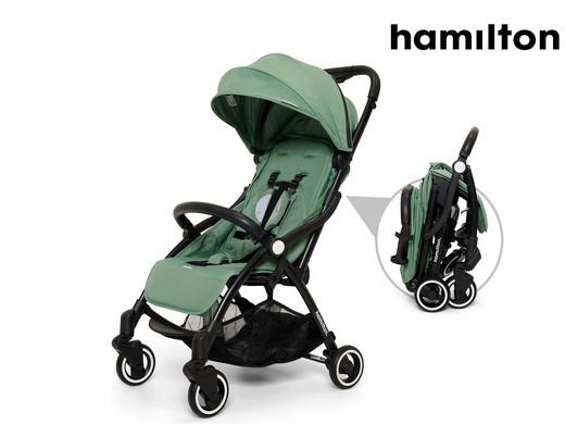 Hamilton One Prime X1 Magic Fold Buggy (Mit einer Hand faltbar) [iBOOD]