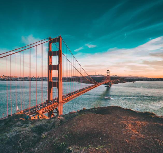 Flüge: San Francisco / USA (Sept-März) Hin- und Rückflug von Frankfurt und München ab 261€
