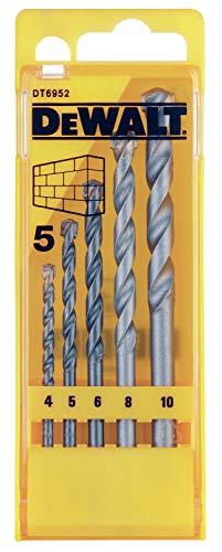 Dewalt Steinbohrer-Set DT6952 (5-teiliges Set 4-5-6-8-10) Prime