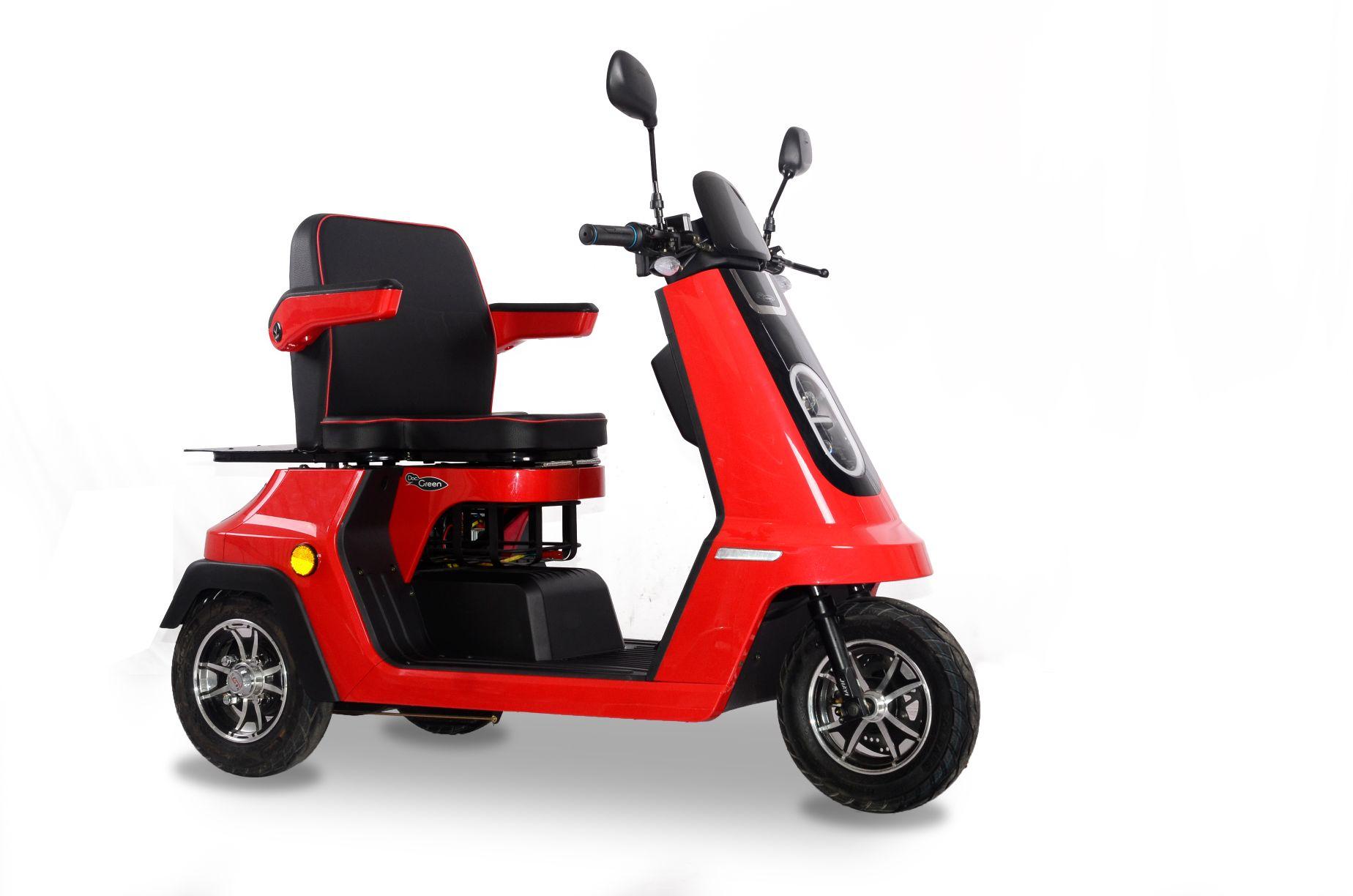DocGreen Senioren-Elektromobil EM 2000 - 1.400 Watt Motor - bis zu 44 km Reichweite