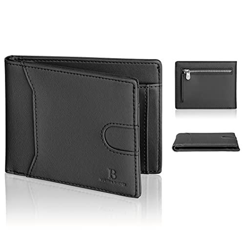[Amazon] RFID-sicheres Portemonnaie mit Reißverschluss Münzfach