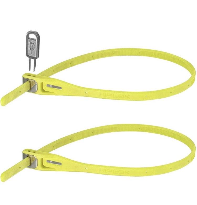 HIPLOK Z-Lok Kabelbinder mit Stahlkern 2er-Pack (Prime)