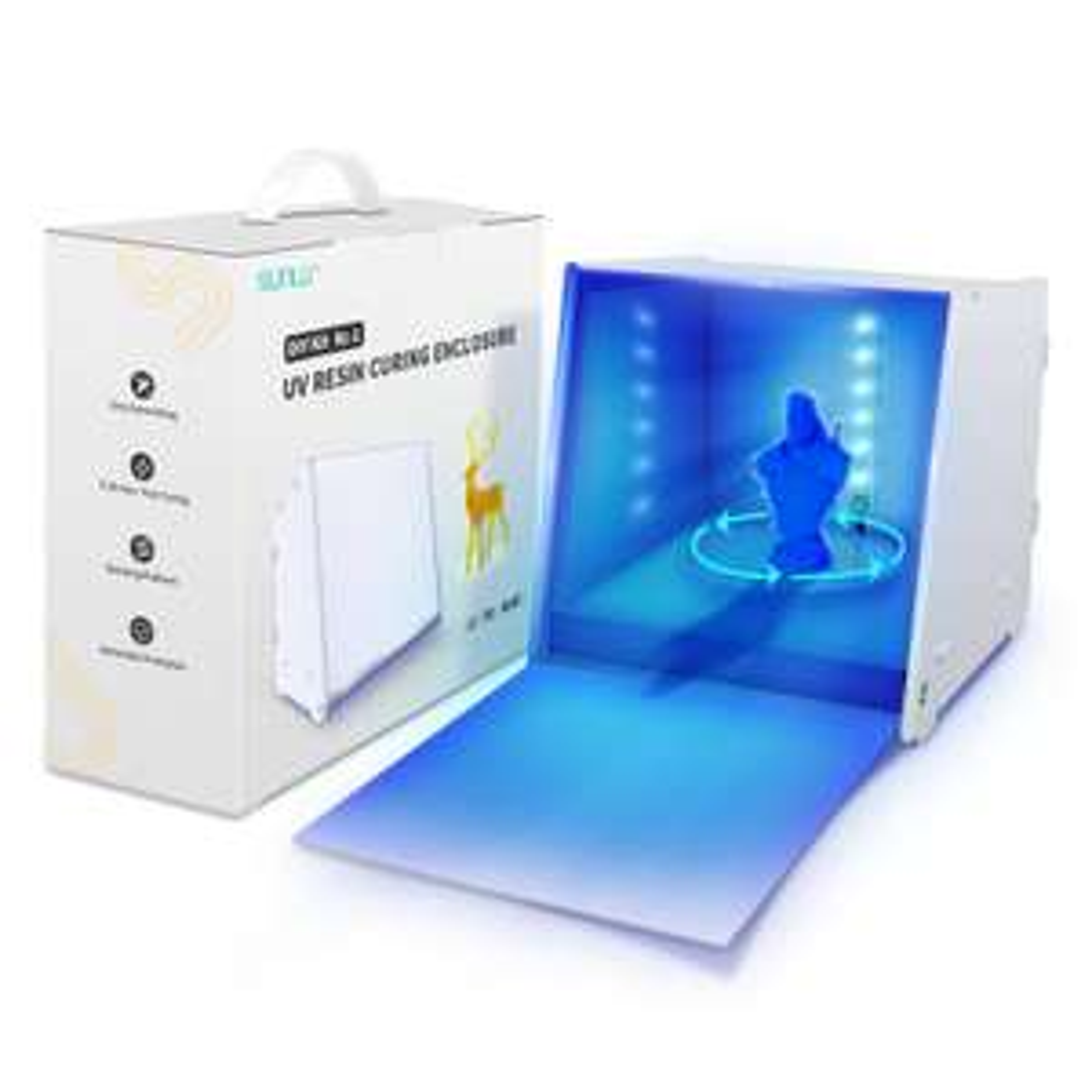 SUNLU 3D Druck UV Aushärtungsbox Resin 3D Printer für 32,80€ statt 48,48€