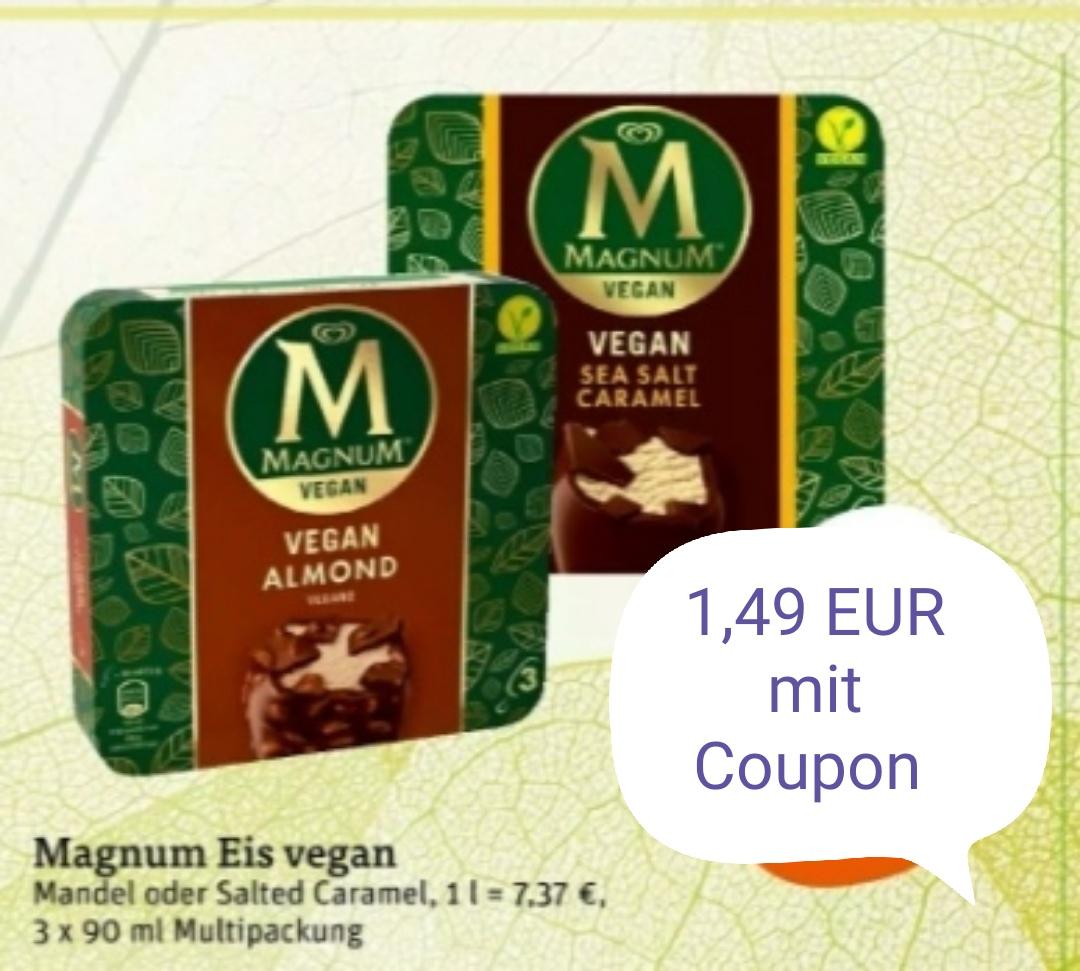 [tegut] Magnum Eis Multipackung Vegan für 1,49 EUR