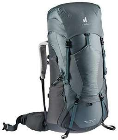 deuter Aircontact Lite 60+10 SL Damen Trekking Rucksack, Farbe shale-graphite, Modell 2021 [Amazon]