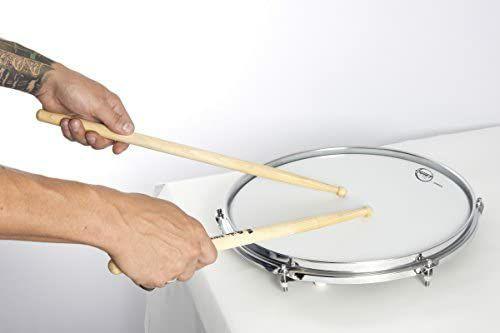 "SABIAN - QT-14SD - 14"" Quiet Tone Drum Mute/Schlagzeug Übungspad (Snare) | TAMA-7A-Skull Pattern Drumsticks 8,66€ [Amazon]"