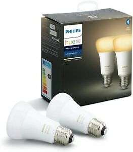 Philips Hue White Ambience E27 Doppelpack