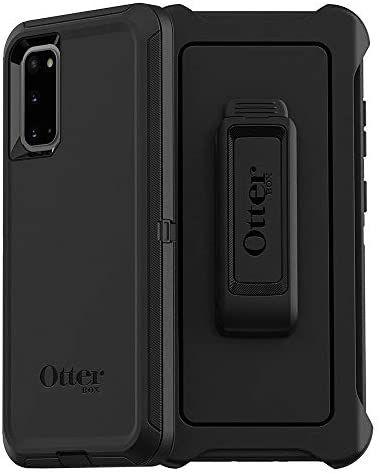 (Prime) OtterBox Defender - robuste Schutzhülle für Samsung S20 Schwarz