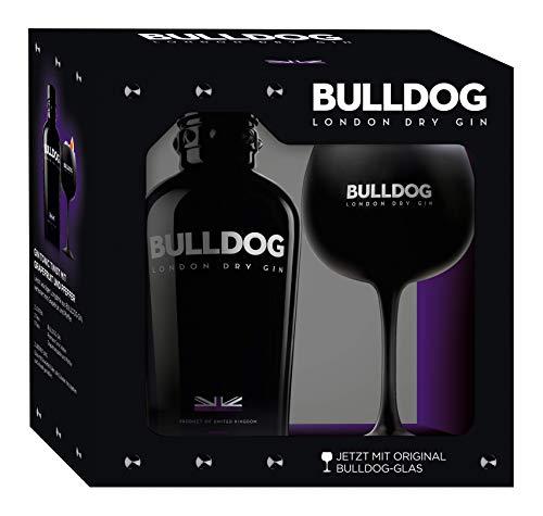 Bulldog Gin 0,7 Liter mit Glas