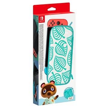 Nintendo Switch Schutzhülle + Schutzfolie - Animal Crossing: New Horizon-Edition