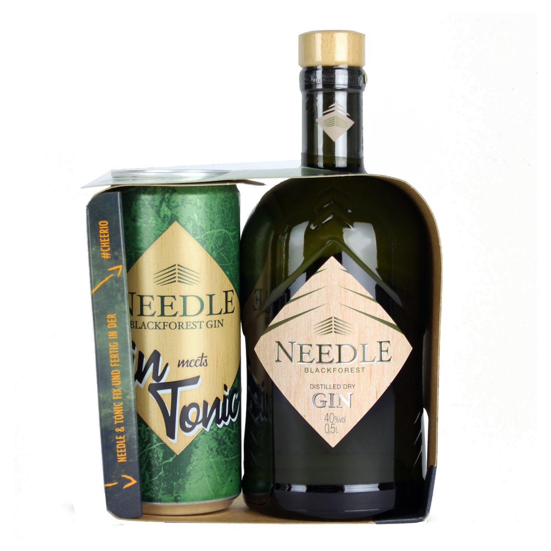 Needle Gin mit Zusätzlicher Dose nur im Laden