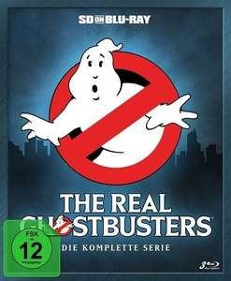 The Real Ghostbusters - Die komplette Serie (Blu Ray) für 36,89€ (bücher.de)
