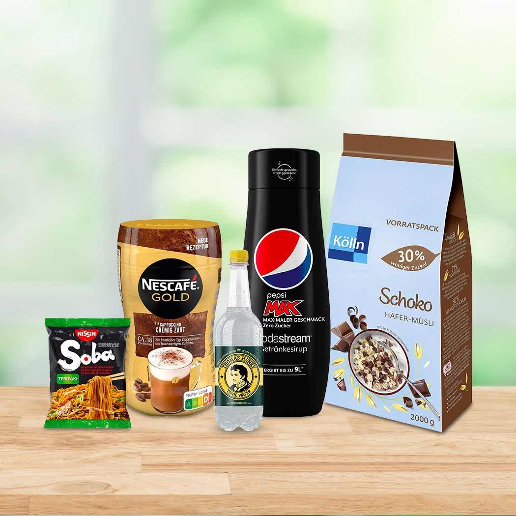 Amazon Lebensmittel Aktion Nimm 5, zahl 4 z.B 5x120 Streifen Wrigley's Spearmint Kaugummi, SodaStream Sirup - Prime*Sparabo*