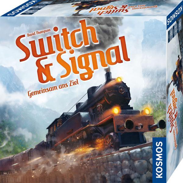 Switch & Signal - Gemeinsam ans Ziel +++ weitere Brettspiele