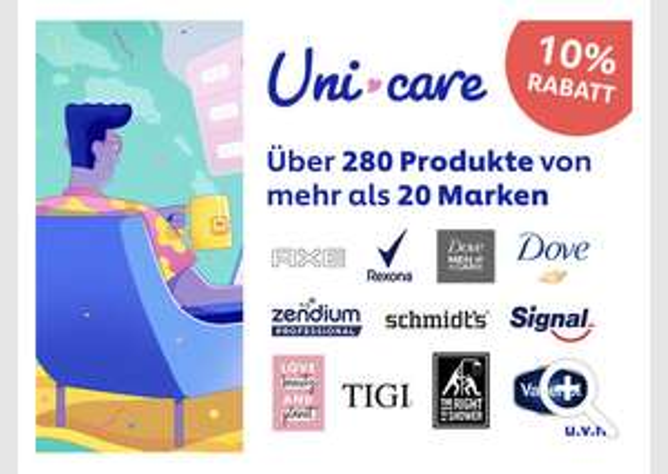Uni Care Unilever Onlineshop [CB] 10%