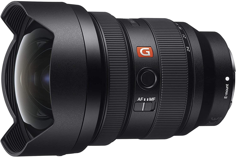 Sony SEL1224GM G Master Ultra-Weitwinkel-Zoom Objektiv (12-24 mm, F2.8, Vollformat, geeignet für A9 & A7-Serien, E-Mount) Schwarz